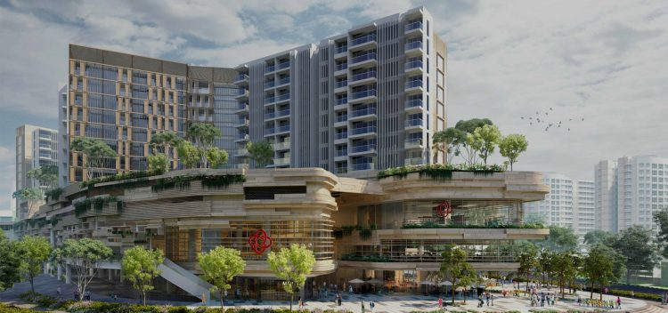 Amazing constructions by Capitaland