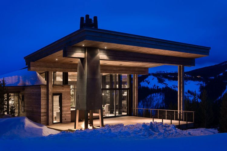 Luxury home in Montana